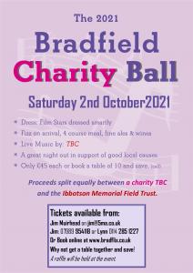 2021 Bradfield Charity Ball