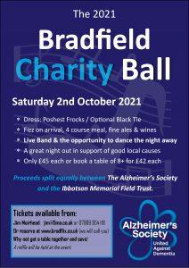 The 2021 Bradfield Charity Ball